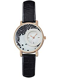 God Gift Designer Stylish Free Diamond Dial Fancy Leather Watch For Girls And Women