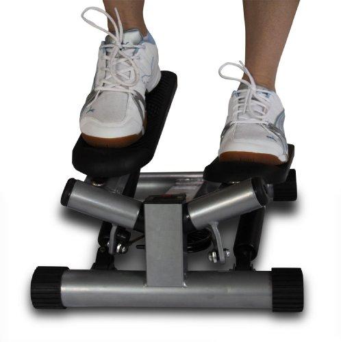 Ultrasport Swing Stepper, Twister, Ministepper inkl. Trainingsbändern - 8