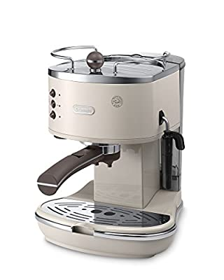 De'Longhi Icona Vintage Traditional Pump Espresso Coffee Machine ECOV311.BG by Delonghi