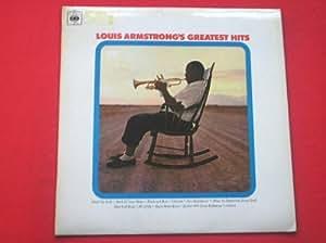 Louis Armstrong Greatest Hits LP CBS BPG63035 EX/EX 1967