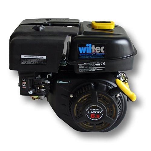 LIFAN 168 Benzinmotor 4,8kW (6,5PS) 20mm 196ccm mit Handstarter Kartmotor