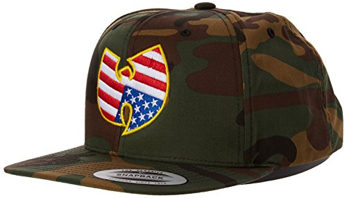 Wu Wear American Snapback Kappe, Camo, one size