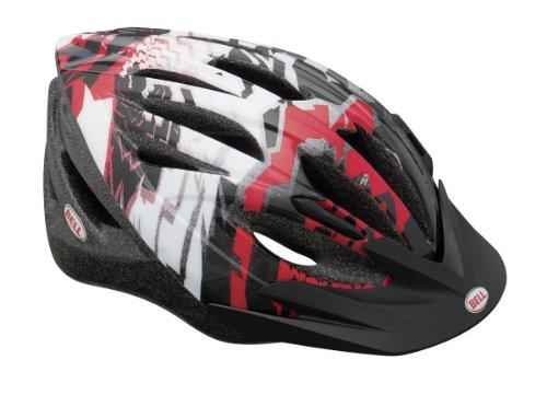 Bell Casque vélo pour enfant Shasta Noir/Rouge Taille unique