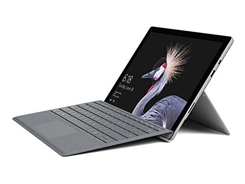 Microsoft Surface Pro (12,3 Zoll) Laptop (Intel Core i5 der 7.Gen., 8 GB RAM, 256 GB SSD, Windows 10 pro) platin - Vorinstalliert Windows 7