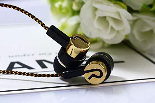 Preisvergleich Produktbild HQZI Explosionsgefärbte Linie Frostschutzmittel Galvanik In-Ear-Kopfhörer