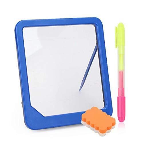 on LED Glühen Zeichnung Tafel mit durchscheinend Sehen Durch Oberfläche Elektronik Fluoreszenz Schreibtafel Skizzenblock Acryl Material Mit Textmarker Board löschen ()