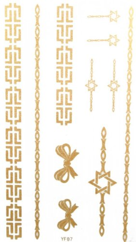 fashion-watertight-gold-butterfly-bow-and-jewelry-tattoo-stickers-for-necklaces-bracelets-anklets
