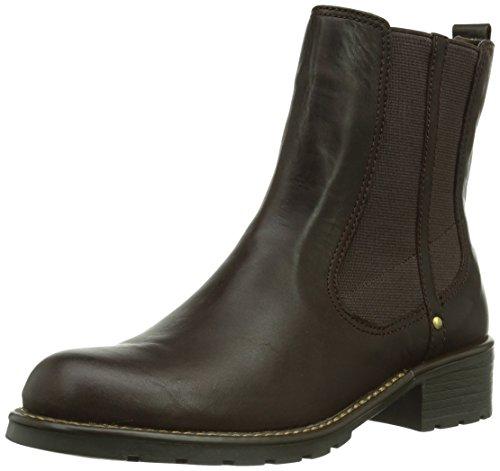 Clarks 261020474_Orinoco Club Stivale da Donna Rosso (Burgundy Leather)