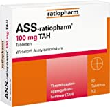 ASS-ratiopharm 100mg TAH 50 stk