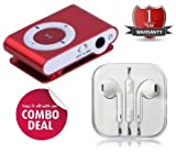 #6: You Gadget Colorful Metal Body Mini Clip MP3 player & Earphones 3.5mm Jack With Mic For Apple iPhone5,6 / iPad / iPod