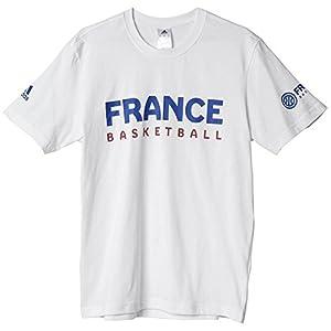 adidas T-Shirt Supporter Enfant Equipe de France Basket-Ball FFBB 9