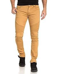 BLZ jeans - Jean camel slim nervuré fashion