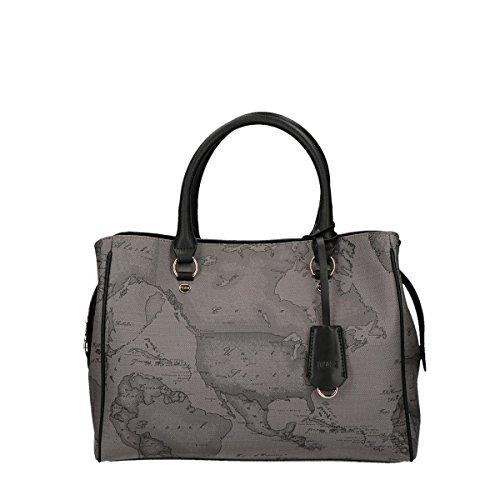 Alviero Martini 1A Classe hand bag with belt Dark Night grey