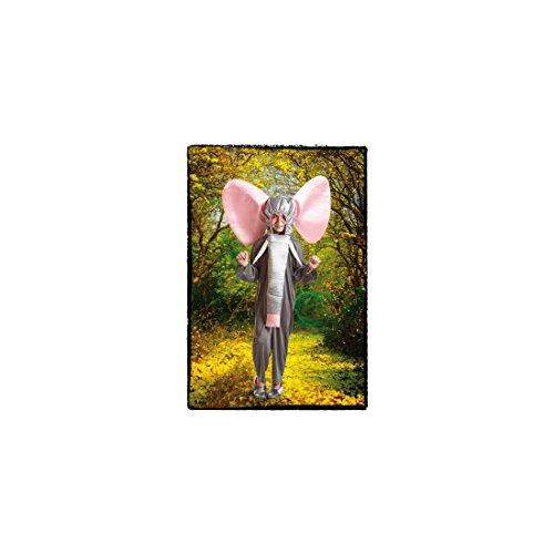 Imagen de disfraz para niños en varias tallas de elefante gris