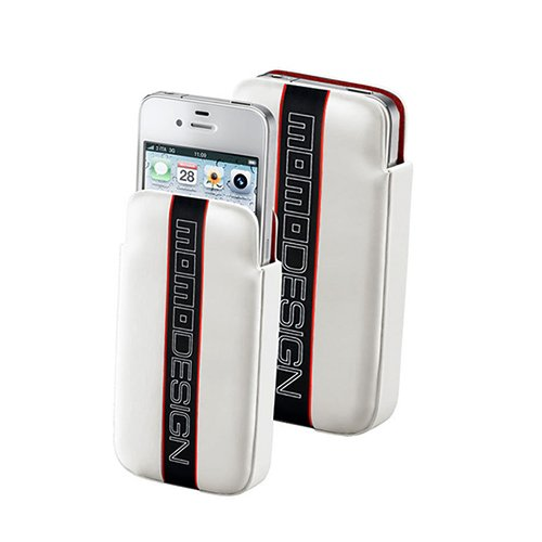Momo Cellular Line per iPhone 4S, colore: bianco
