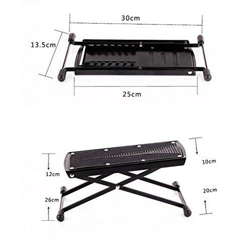 Imagen de reposapiés para  soporte de  clásica multi stall ajuste pedal de  pedal de  negro / amarillo  color  2  alternativa
