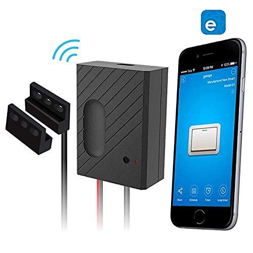 WiFi Remote Garage Door Openers-Control Using Ewelink App, Compatible with  Amazon Alexa, Google Home, and IFTTT