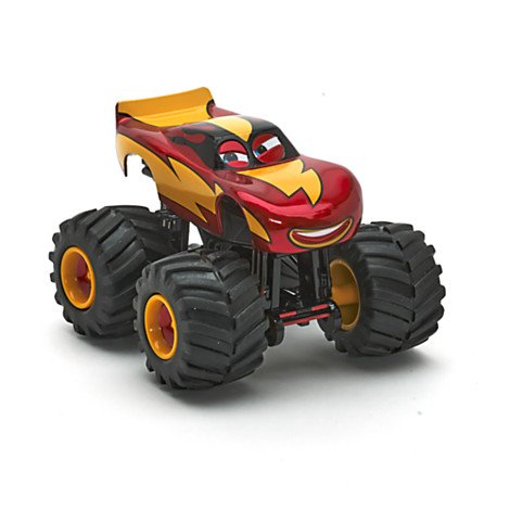 Disney Pixar Cars - Monster Truck Lightning McQueen Die Cast (Disney Cars Monster Truck)
