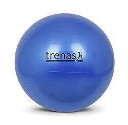 Gymnastikball, Sitzball 75 cm, berstsicher und mit Pumpe