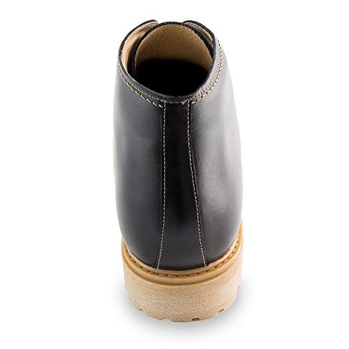 La En Zapatos 7cm Augmentant Los Altura Aumenta Fabriquées Tamaño Que Para A Pour Chaussures Masaltos La Hombres Aumentar Réhaussantes Masaltos Único Avec Bergen Negro Jusquà Modelo Noir Bergen Modèle De Semelle 7cm Medida Taille El Homme Peau Hecha De Piel Hasta qfATOYwZ
