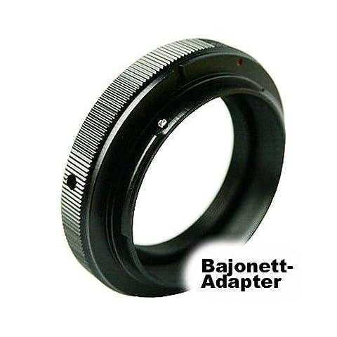 POWERED BY SIOCORE Adapter T2 Bajonett Objektiv an Sony A (MA) Bajonett für Sony Alpha A / SLT Serie Spiegelreflexkameras, Konica Minolta Dynax und analoge Konica Minolta SLR MA Bajonett Kameras