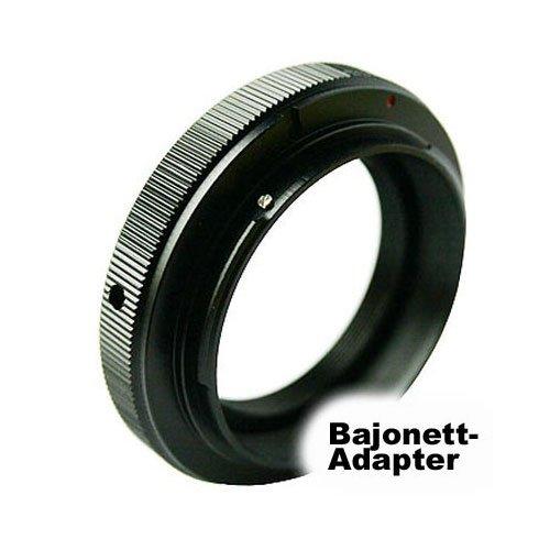 POWERED BY SIOCORE Adapter T2 Bajonett Objektiv an Sony A (MA) Bajonett für Sony Alpha A / SLT Serie Spiegelreflexkameras, Konica Minolta Dynax und analoge Konica Minolta SLR MA Bajonett Kameras Ma-adapter