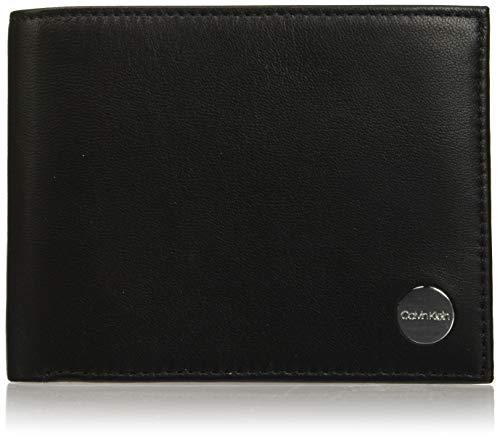 Calvin Klein Pop-work 5cc Coin - Portafogli Uomo, Nero (Black), 1x1x1 cm (W x H L)