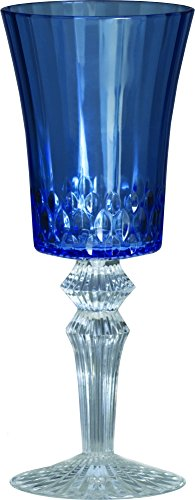 hickes Wein-Glas, Acryl, Blau, 8,5 x 8,5 x 21,5 cm ()