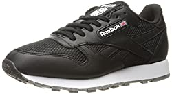 Reebok Classic Leather Nm Fashion Sneaker Black/White/Coal-Gum 9.5 D(M) US