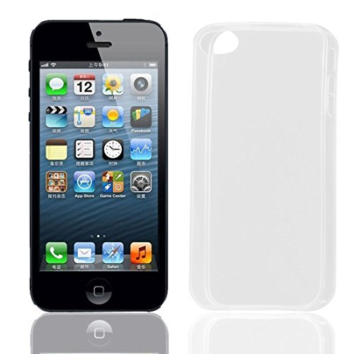 Thin Thin Soft TPU Skin Case Cover Protector Clear voor de iPhone 4S 4G