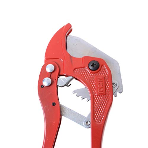 Scissors - Pvc 42mm Plumbing Tube Cutter Ratcheting Type Plastic Hose Ppr Cutters Pliers - Plumbing Tools Cutter Pipe Tube Cutter Pipe Hose Garden Ratchet Rope Multifunction Tool Connector