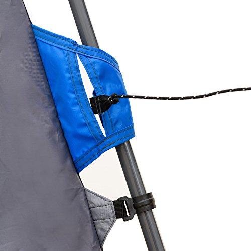Qeedo Quick Villa 5, Sekundenzelt für 5 Personen, Familien-Zelt mit Stehhöhe - grau - 9