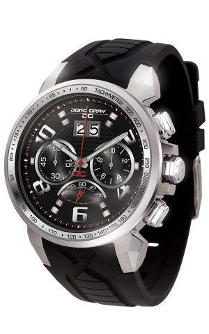 Jorg Gray Reloj cronógrafo para Hombre de Cuarzo con Correa en Silicona JG5600-21