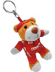 Ferrari Llavero oso de peluche del equipo Ferrari