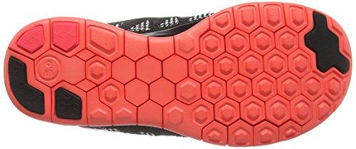 Nike - Free 5.0, pantofole per bambine e ragazze Rosso(black/hyperpunsch)