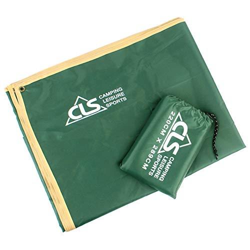 ZqiroLt Teppich, tragbar, für Outdoor-Aktivitäten, Wandern, wasserdicht, Oxford-Gewebe, Picknick-Matte Armee-grün