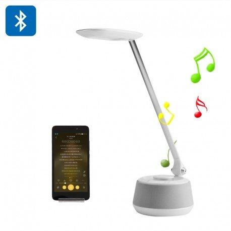 th Schreibtisch Licht-3Leuchtmodi, 200Lumen, Lautsprecher Bluetooth, Signalen, 360Grad-Sound ()