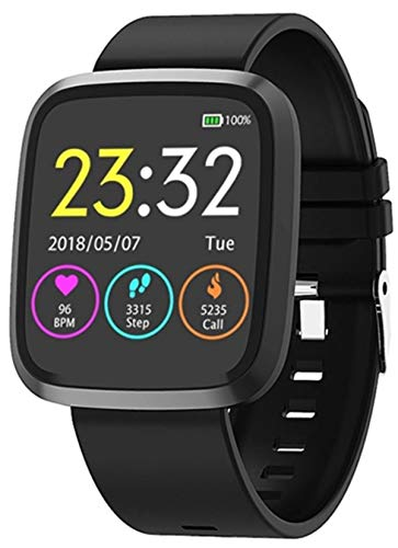 snowpack™ Genuine ST8 Smart Watch with Activity Tracker/Blood Pressure/Oxygen/Heart Rate/Sleep Monitor/Waterproof - Black