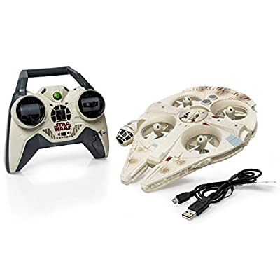 Air Hogs Star Wars: Episode VII The Force Awakens Remote Control Ultimate Millennium Falcon Quad by Star Wars