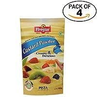 Custard Powder Pista Pouch 100g, Pack of 4