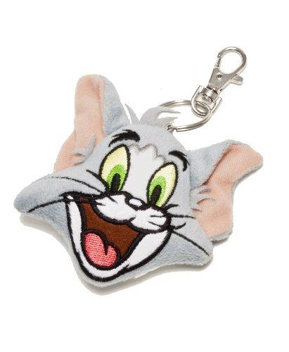 Tom & Jerry 233325 - Tom Plüsch-Schatzhalter, 7 cm