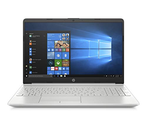 HP 15-dw0010ns - Ordenador portátil de 15.6' HD (Intel Core i3-7020U, 8GB RAM, 256GB SSD, Intel Graphics, Windows 10) color plata - teclado QWERTY Español
