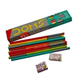#10: Gift Hub - Doms - Y1+ Super Dark Graphite Pencils - Pack of 3 - Gift Item - Return Gift Item