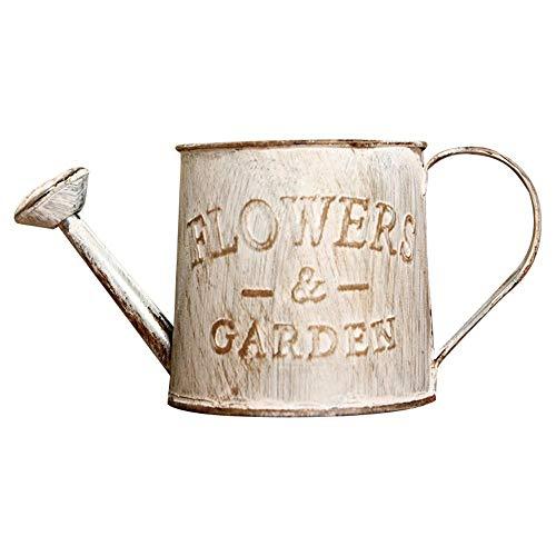 foonee vintage ferro per interni ed esterni, metallo artigianato metallo fiore archaize vaso di canapa vintage da balcone giardino piante vaso decor a