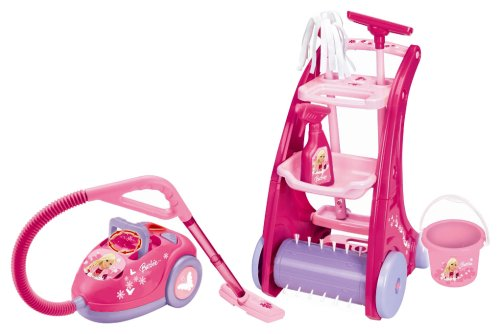LEXIBOOK RPB515 - Set de limpieza con diseño de Barbie