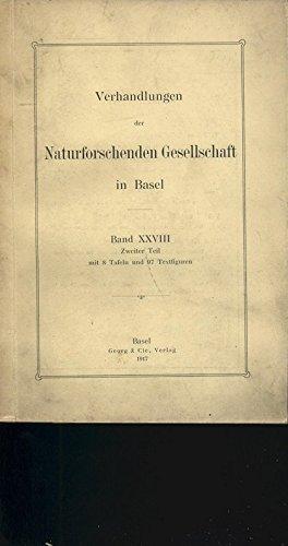 Zur Theorie der isostatischen Reduktion der Schwerebeschleunigung, in: VERHANDLUNGEN DER NATURFORSCHENDEN GESELLSCHAFT IN BASEL, Band XXVIII, 2. Teil, 1917.