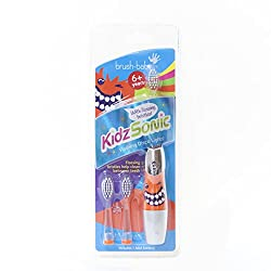 Brush-baby Kidzsonic Electric Toothbrush 6+yrs Silver