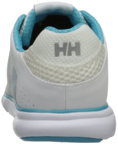Helly Hansen Damen Ahiga Outdoor Fitnessschuhe Multicolore (Blanco / Turquesa)
