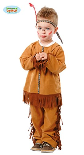 Baby Indianer - Kostüm für Kinder Gr. 86 - 98, Größe:86/92 (Indianer Kostüm Halloween)