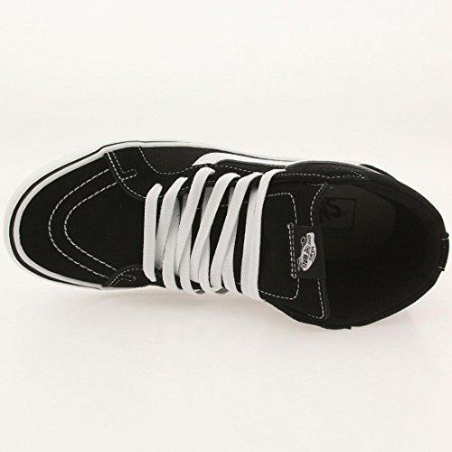 Vans Sk8-hi Lite Plus, Sneakers Hautes mixte adulte Noir (Suede/Canvas/Black/White)